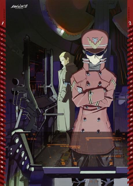 Gainax, Neon Genesis Evangelion, Ritsuko Akagi, Misato Katsuragi, Calendar