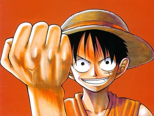 Eiichiro Oda, One Piece, Color Walk 1, Monkey D. Luffy