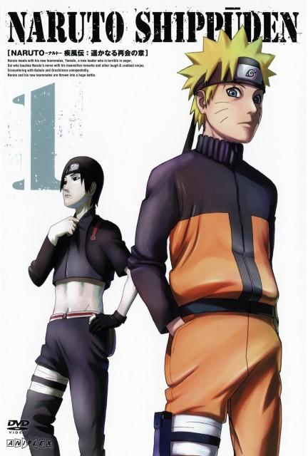 Studio Pierrot, Naruto, Sai , Naruto Uzumaki, DVD Cover