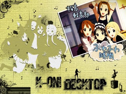 Kakifly, Kyoto Animation, K-On!, Tsumugi Kotobuki, Yui Hirasawa Wallpaper