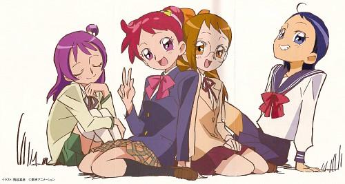 Toei Animation, Ojamajo DoReMi, Hazuki Fujiwara, Onpu Segawa, Aiko Senoo