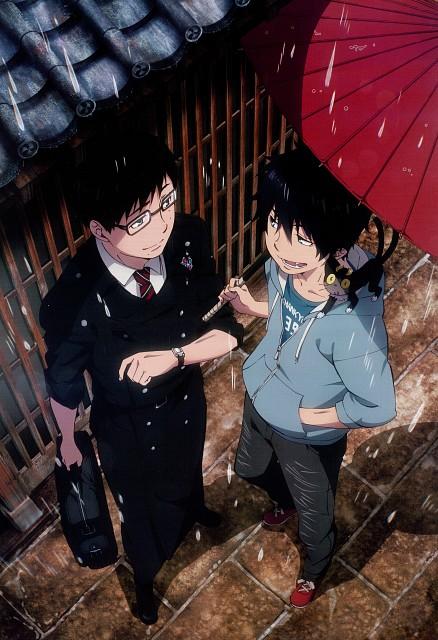 A-1 Pictures, Ao no Exorcist, Yukio Okumura, Rin Okumura, Kuro (Ao no Exorcist)