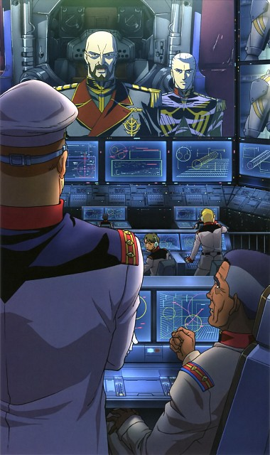 Mobile Suit Gundam 0083, Gundam Perfect Files, Anavel Gato, Aiguille Delaz