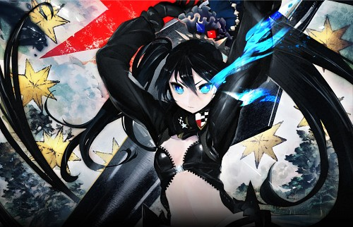 huke, Ordet, Black Rock Shooter, Black Rock Shooter (Character)