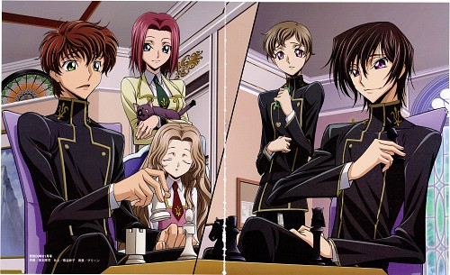 Takahiro Kimura, Sunrise (Studio), Lelouch of the Rebellion, Code Geass Archives 2006-2008 In Animage, Nunnally Lamperouge