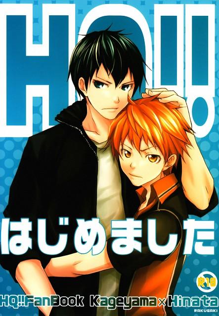 Haikyuu!!, Tobio Kageyama, Shouyou Hinata, Doujinshi, Doujinshi Cover
