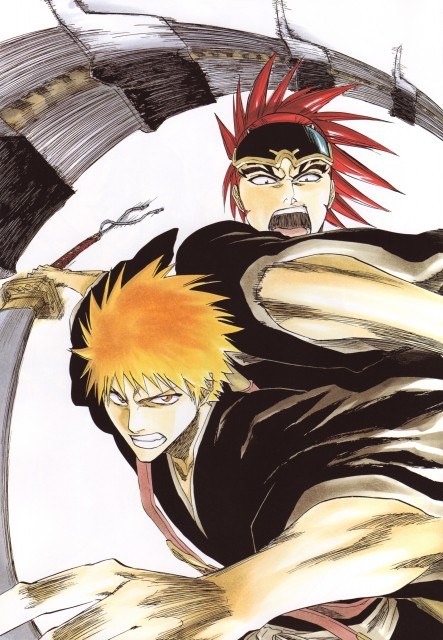 Kubo Tite, Bleach, All Colour But The Black, Renji Abarai, Ichigo Kurosaki