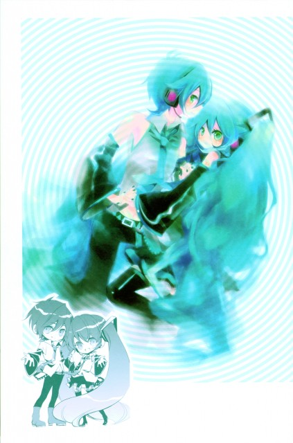 Shimeko, Landmark (Artbook), Vocaloid, Miku Hatsune, Mikuo Hatsune