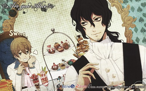 Idea Factory, Are You Alice, Mad Hatter (Are You Alice), Alice (Are You Alice), Official Wallpaper