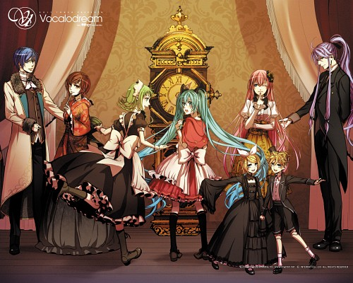 Suzunosuke, Vocaloid, Miku Hatsune, Rin Kagamine, Gumi