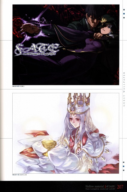 TYPE-MOON, Fate/complete material V Hollow material., Fate/Hollow ataraxia, Kuzuki Souichirou, Caster (Fate/stay night)