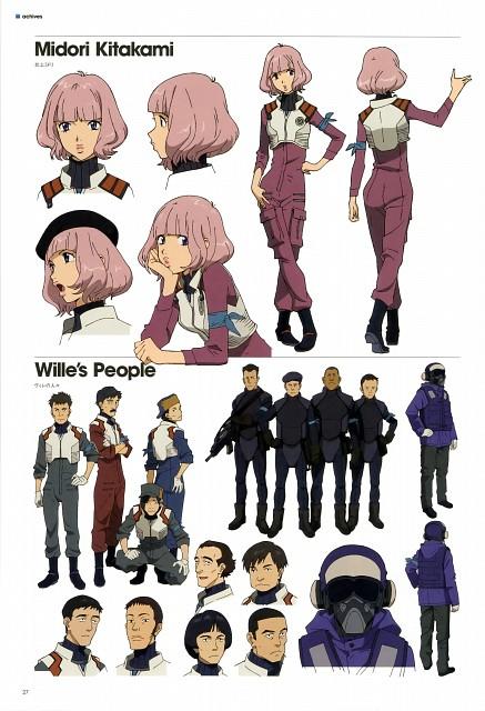 Gainax, Khara, Neon Genesis Evangelion, Evangelion 3.0 Theatrical Booklet, Midori Kitakami