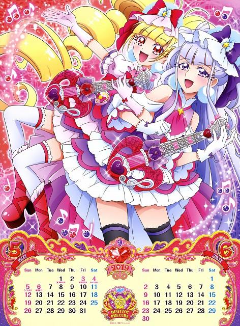 Toei Animation, HUGtto! Precure, Cure Machérie, Cure Amour, Calendar