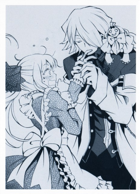 Jun Mochizuki, Pandora Hearts, Sharon Rainsworth, Xerxes Break, Emily (Pandora Hearts)