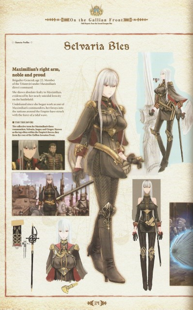 Atsuko Watanabe, A-1 Pictures, Valkyria Chronicles, Selvaria Bles