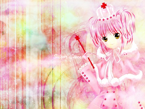 Peach-Pit, Satelight, Shugo Chara, Amu Hinamori Wallpaper