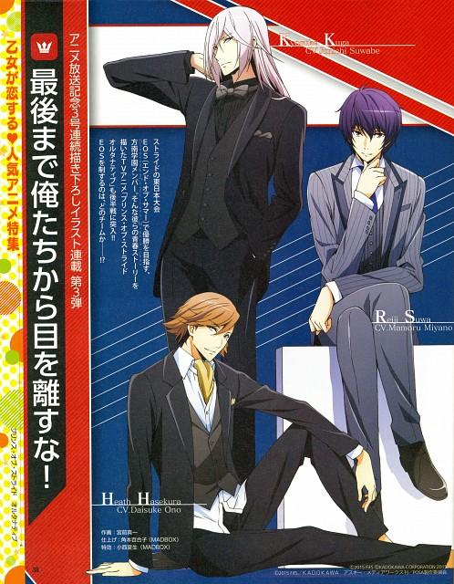 Madhouse, Prince of Stride, Kyousuke Kuga, Reiji Suwa, Heath Hasekura