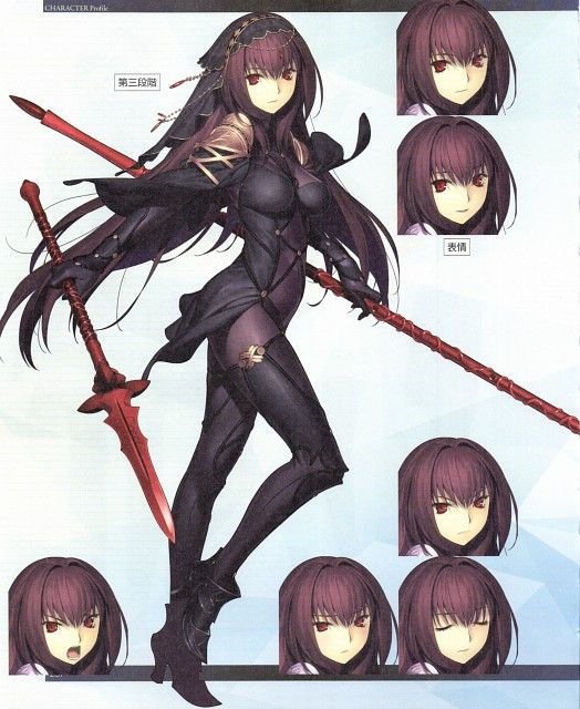 Aniplex, TYPE-MOON, Fate/Grand Order, Scathach, Character Sheet