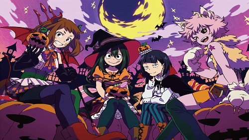 Kouhei Horikoshi, BONES, Boku no Hero Academia, Kyouka Jirou, Ochako Uraraka