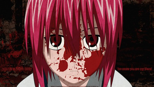 Lynn Okamoto, Studio ARMS, Elfen Lied, Lucy, Vector Art Wallpaper