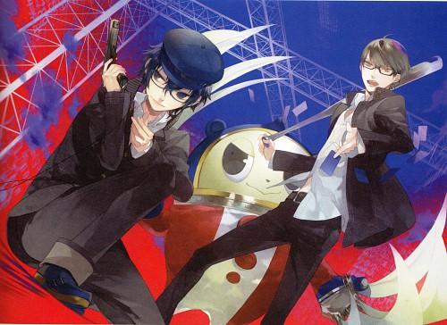 Kazuaki, Atlus, Kazuaki Art Works, Shin Megami Tensei: Persona 4, Yu Narukami