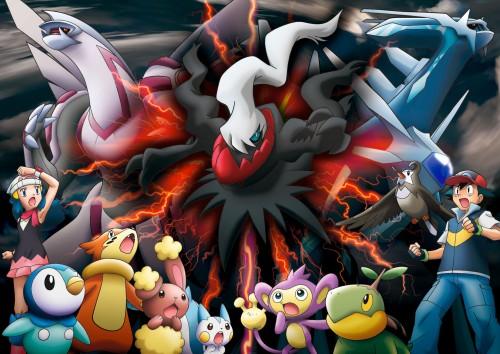 Nintendo, OLM Digital Inc, Pokémon, Dialga, Ash Ketchum