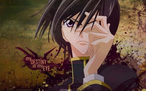 Sunrise (Studio), Lelouch of the Rebellion, Lelouch Lamperouge, Vector Art Wallpaper