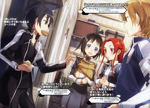 Abec, A-1 Pictures, Sword Art Online, Kazuto Kirigaya, Eugeo