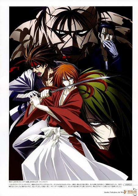 Atsuko Nakajima, Studio DEEN, Rurouni Kenshin, Kirara - Atsuko Nakajima Art Work, Makoto Shishio