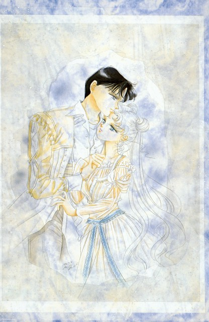 Naoko Takeuchi, Bishoujo Senshi Sailor Moon, BSSM Original Picture Collection Vol. II, Princess Serenity, Prince Endymion