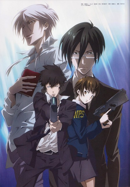 Production I.G, PSYCHO-PASS, Akane Tsunemori, Shougo Makishima, Ginoza Nobuchika