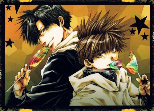 Kazuya Minekura, Saiyuki, Salty Dog IX, Cho Hakkai, Son Goku (Saiyuki)