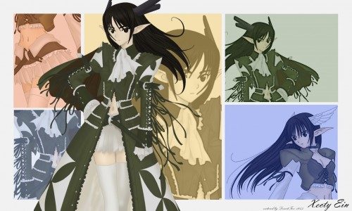 Tony Taka, Shining Wind, Shining Tears, Xecty Ein, Vector Art