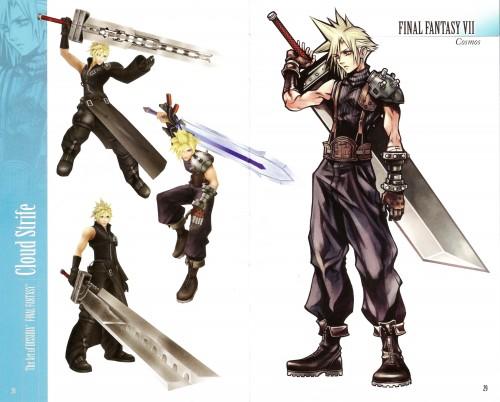 Square Enix, Final Fantasy Dissidia, Cloud Strife