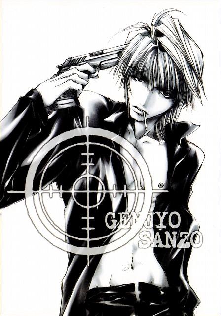Kazuya Minekura, Studio Pierrot, Saiyuki, Genjyo Sanzo