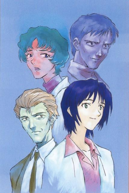 Yoshiyuki Sadamoto, Neon Genesis Evangelion, Die Sterne, Gendo Ikari, Naoko Akagi