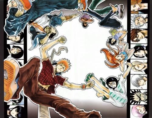 Kubo Tite, Bleach, All Colour But The Black, Ichigo Kurosaki, Yachiru Kusajishi