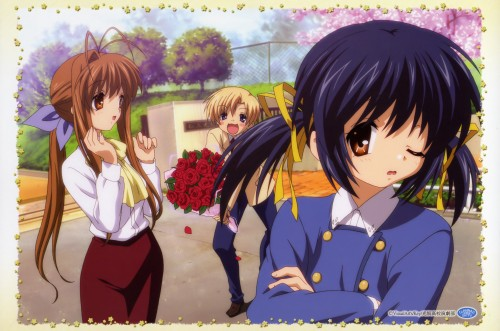 Kyoto Animation, Clannad, Mei Sunohara, Youhei Sunohara, Sanae Furukawa