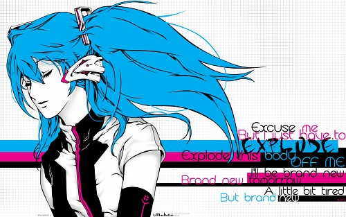 Nagimiso, Vocaloid, Miku Hatsune, Vector Art Wallpaper