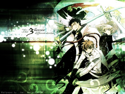 CLAMP, Bee Train, Tsubasa Reservoir Chronicle, Syaoran Li, Kurogane Wallpaper