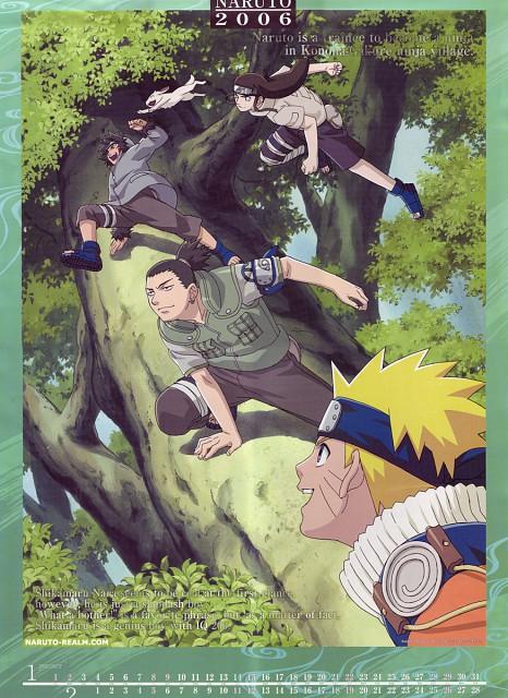 Studio Pierrot, Naruto, Neji Hyuuga, Naruto Uzumaki, Shikamaru Nara