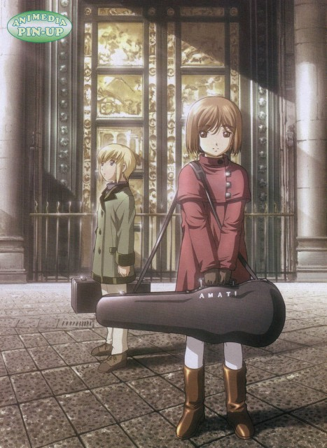 Yu Aida, Madhouse, Gunslinger Girl, Henrietta, Rico (Gunslinger Girl)
