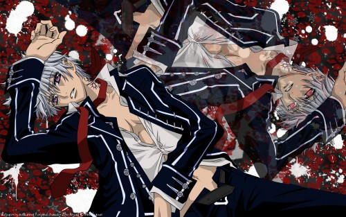 Matsuri Hino, Studio DEEN, Vampire Knight, Zero Kiryuu, Vector Art Wallpaper