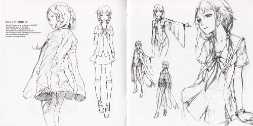 redjuice, Production I.G, GUILTY CROWN, GUILTY CROWN - redjuice's Notebook, Inori Yuzuriha