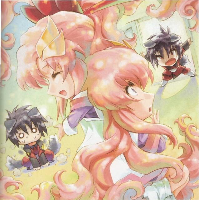 RGB, Mobile Suit Gundam SEED Destiny, Shinn Asuka, Lacus Clyne, Newtype Magazine