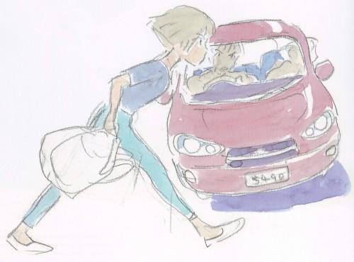Hayao Miyazaki, Studio Ghibli, Gake no Ue no Ponyo, The Art of - Ponyo, Lisa (Gake no Ue no Ponyo)