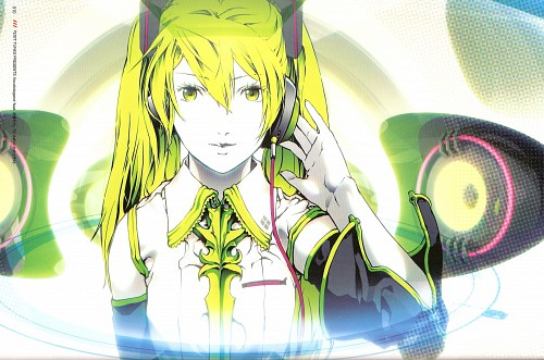 Nagimiso, Quantum Singer Illustrations Reactor Girl, Quantum Flowers, Vocaloid, Miku Hatsune