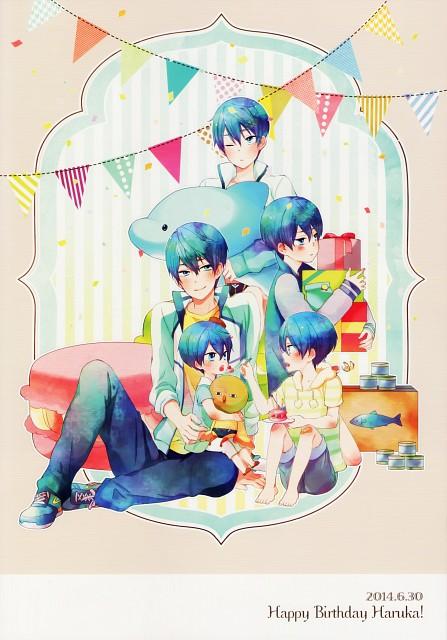 Uyu, Free!, Haruka Nanase Ever Blue - 1st Photo Book, Haruka Nanase (Free!), Doujinshi