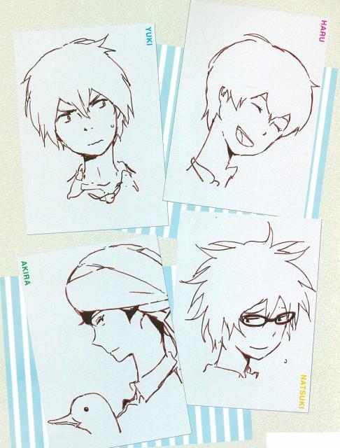 A-1 Pictures, Tsuritama, Haru (Tsuritama), Natsuki Usami, Akira Agarkar Yamada