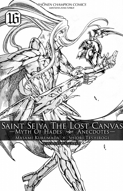 Shiori Teshirogi, TMS Entertainment, Saint Seiya: The Lost Canvas, Pope Sage